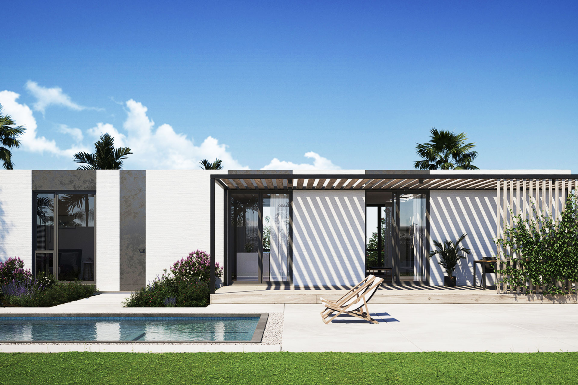 Rancho Mirage 3D printed home