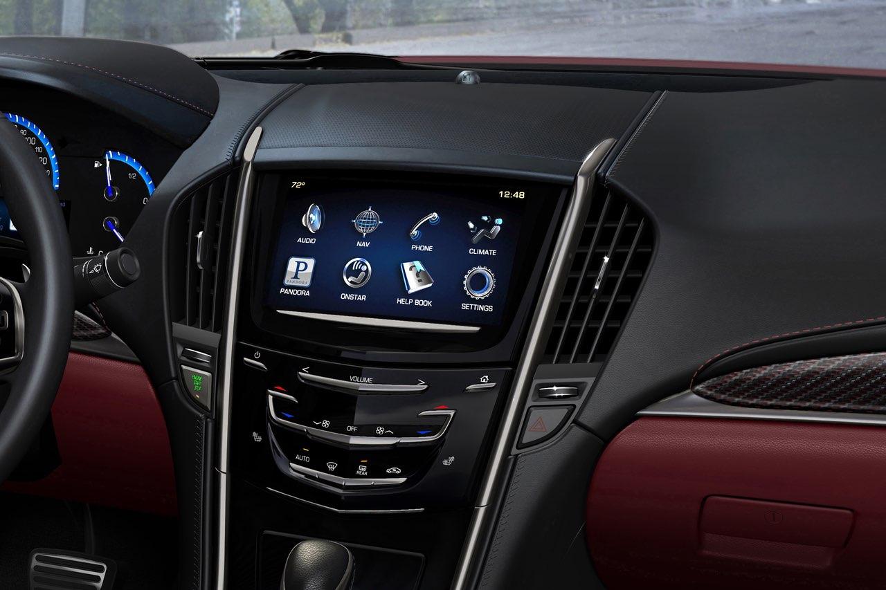 2013 Cadillac ATS Cue control panel