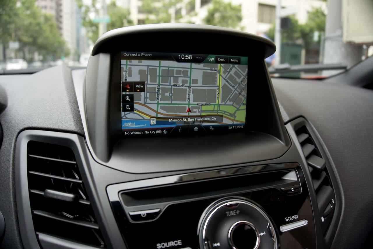 Ford Fiesta ST navigation