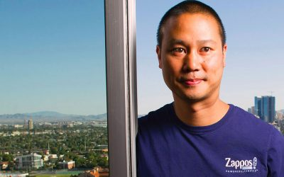 Tony Hsieh's Big Las Vegas Vision