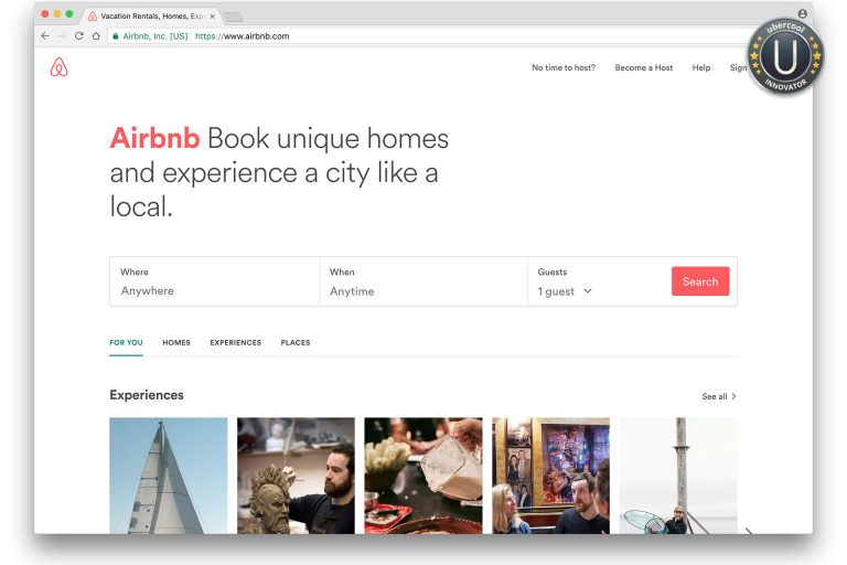 Innovator: Airbnb home sharing