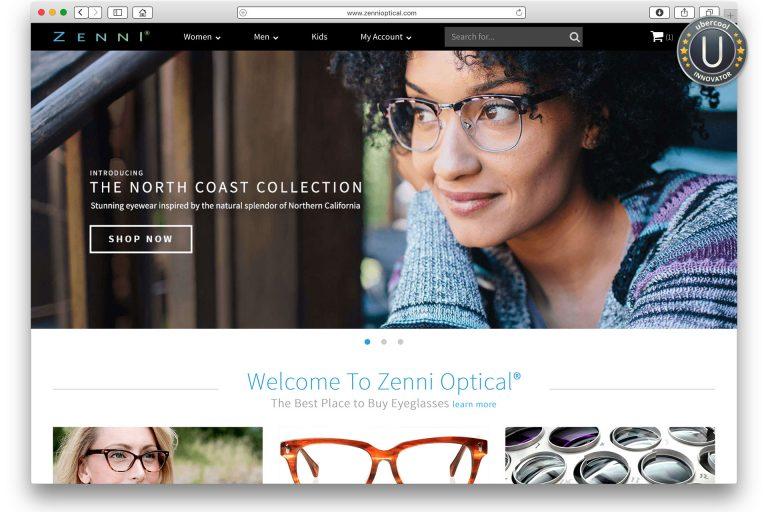 Zenni Optical mailorder glasses