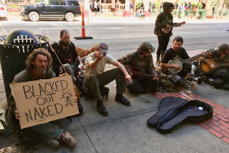 SXSW: Blacked Out Naked musicians