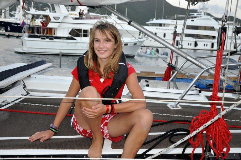 Laura Dekker at age 15