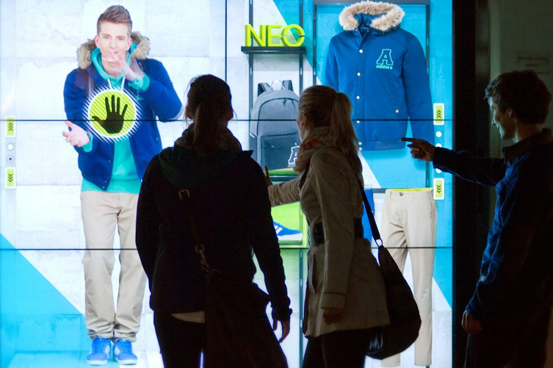 Adidas Interactive Window Shopping