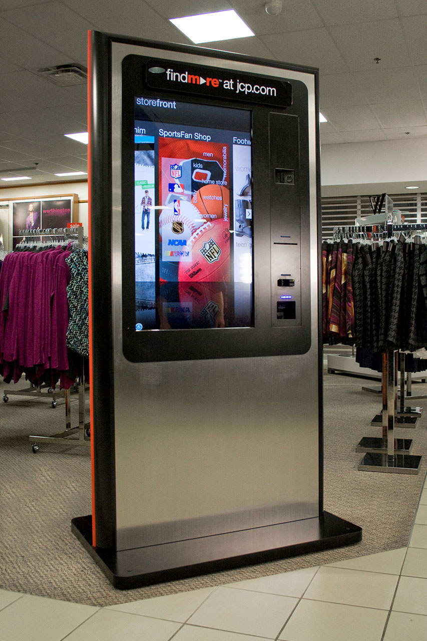 JCPenney Find More Kiosk