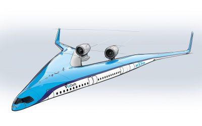 KLM Flying V Jet