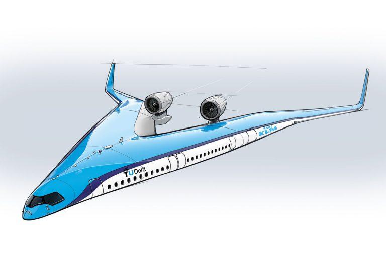 KLM Flying-V Jet