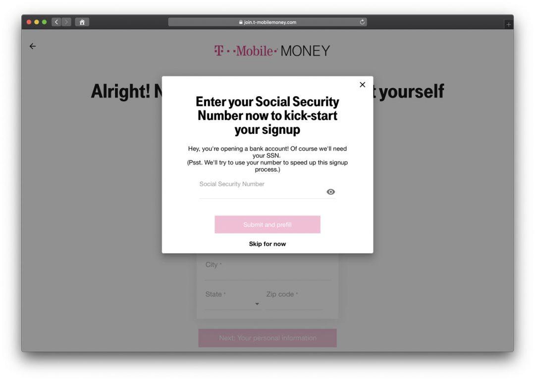 T-Mobile MONEY Step 5