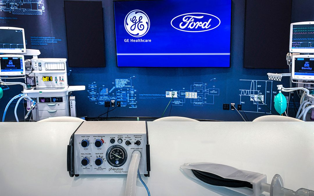 Ford and GE Healthcare to Build 50,000 Airon-licensed Model A-E Ventilators