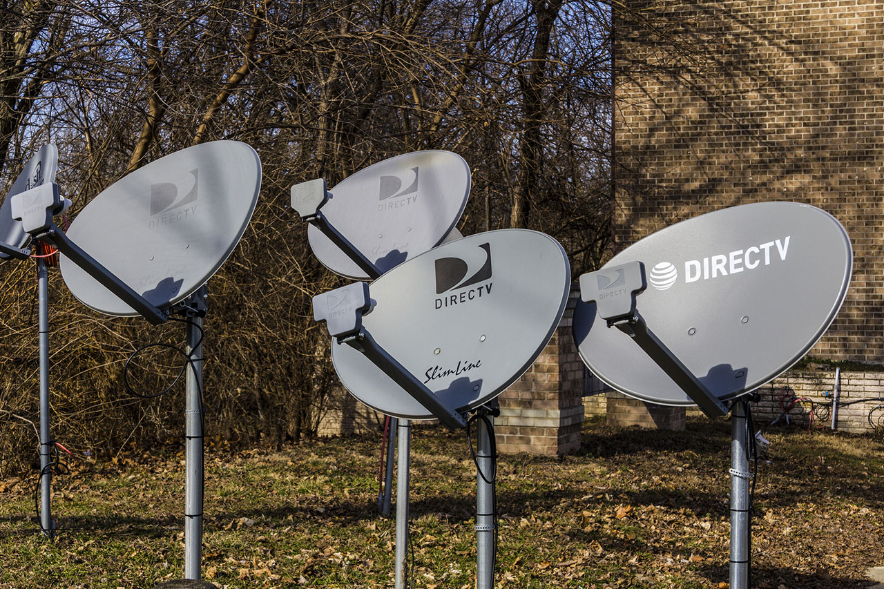DirecTV dishes