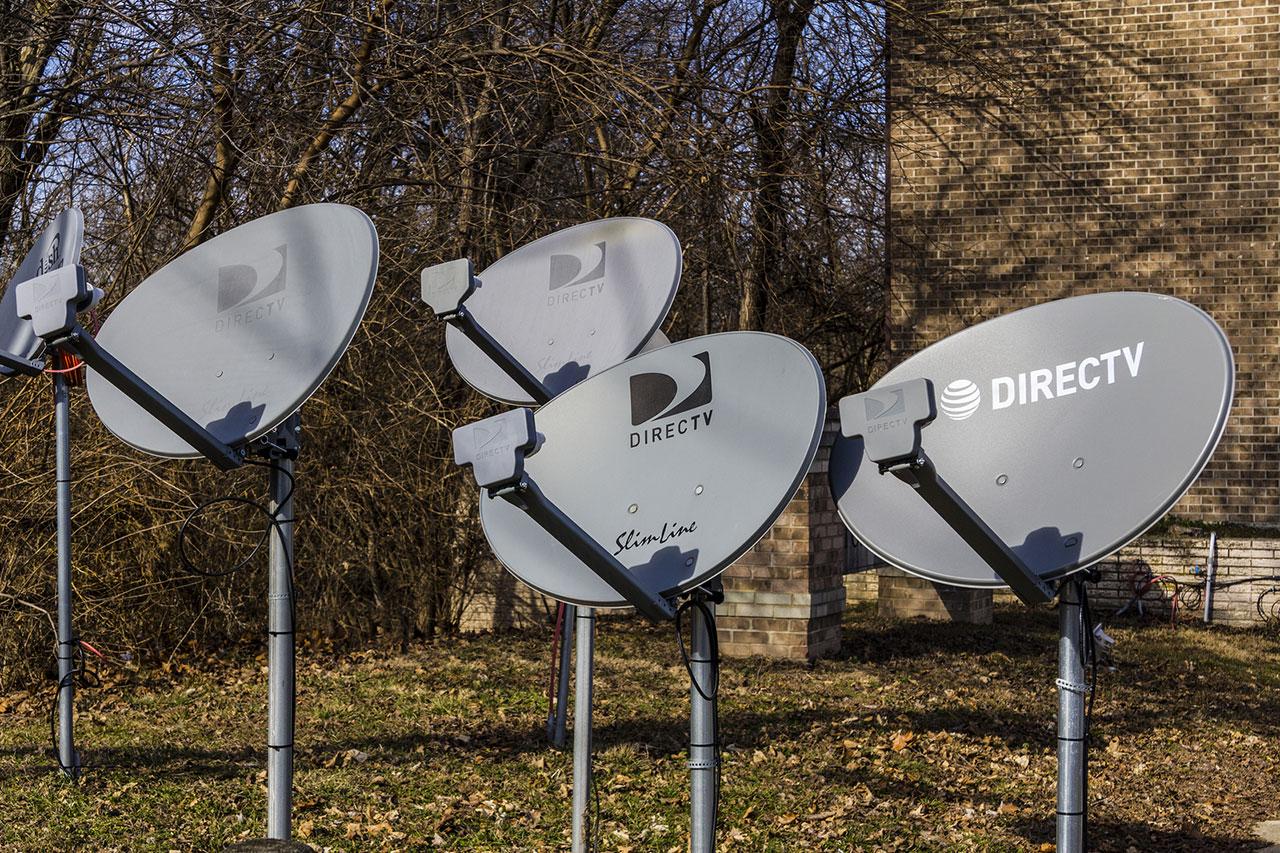 DirecTV dishes