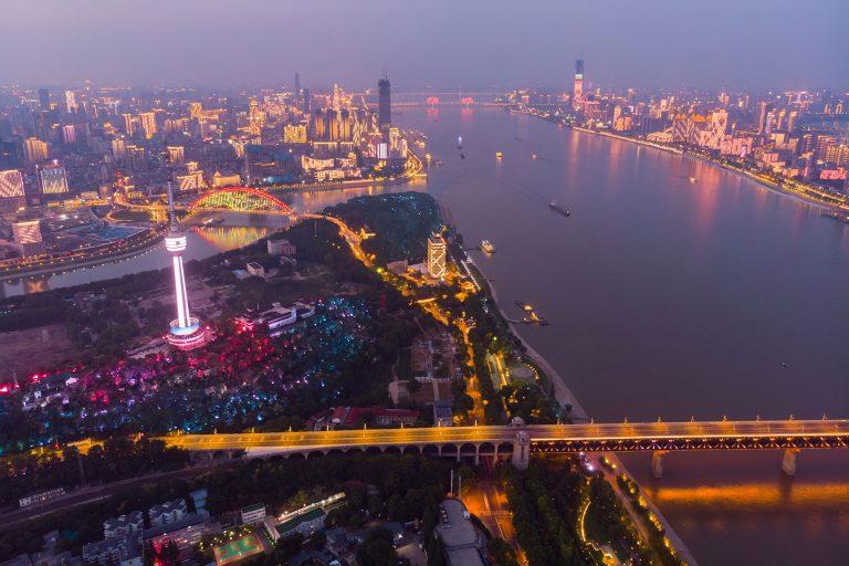 Lockdown in Wuhan, China