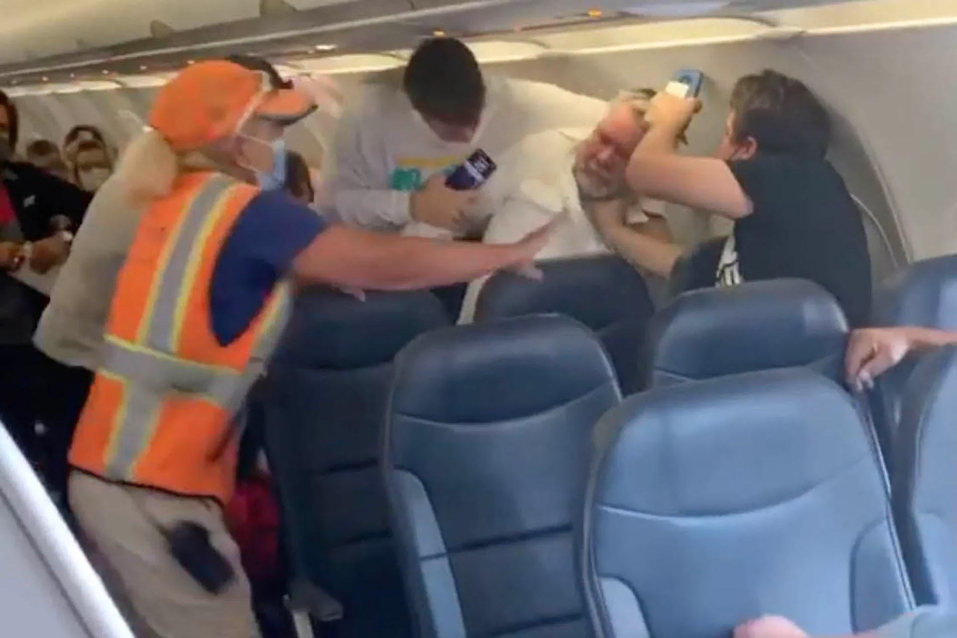 Air Rage passenger