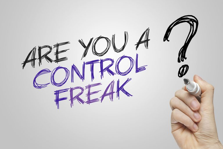 Are you a control freak? Just asking!