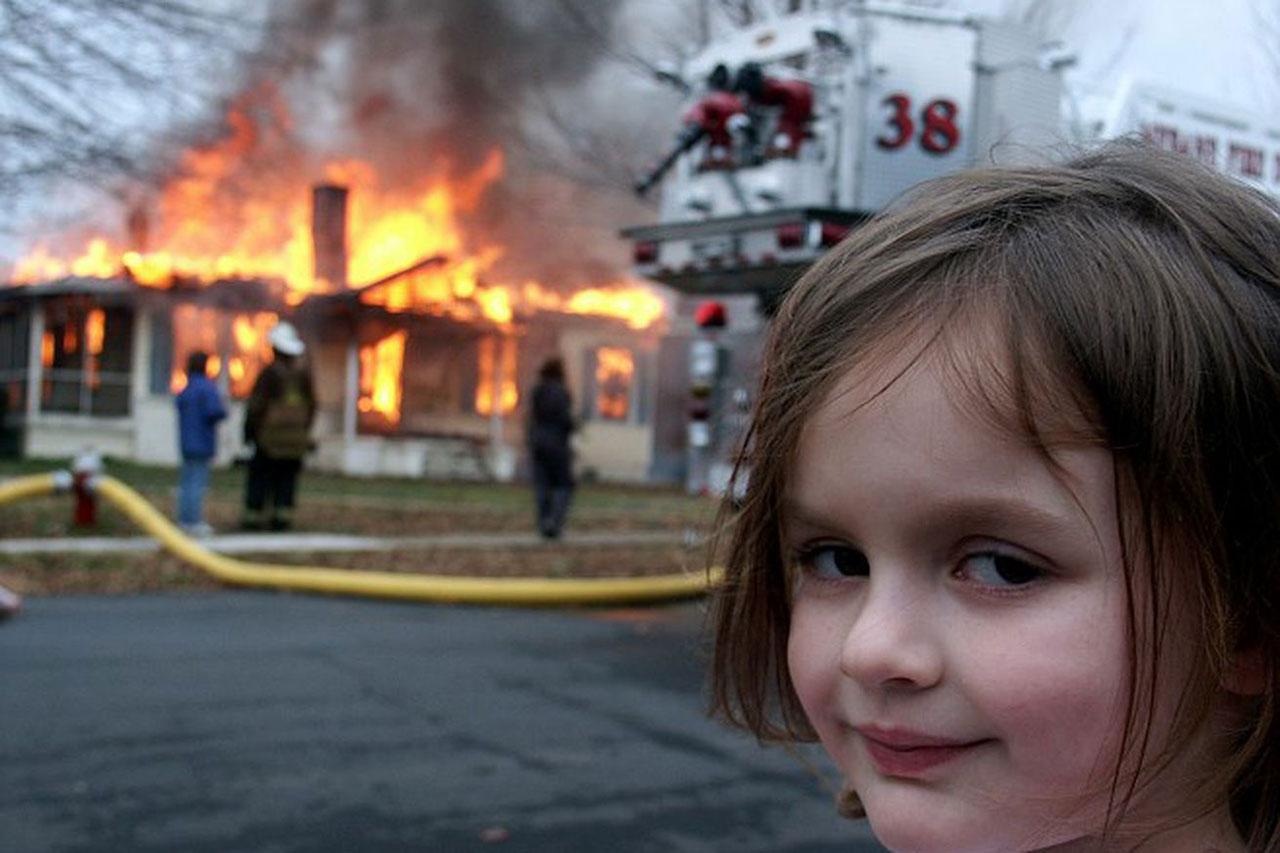 Disaster Girl NFT