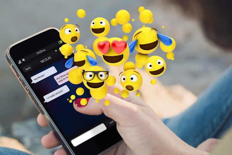 Emojis have infiltrated the social dialog