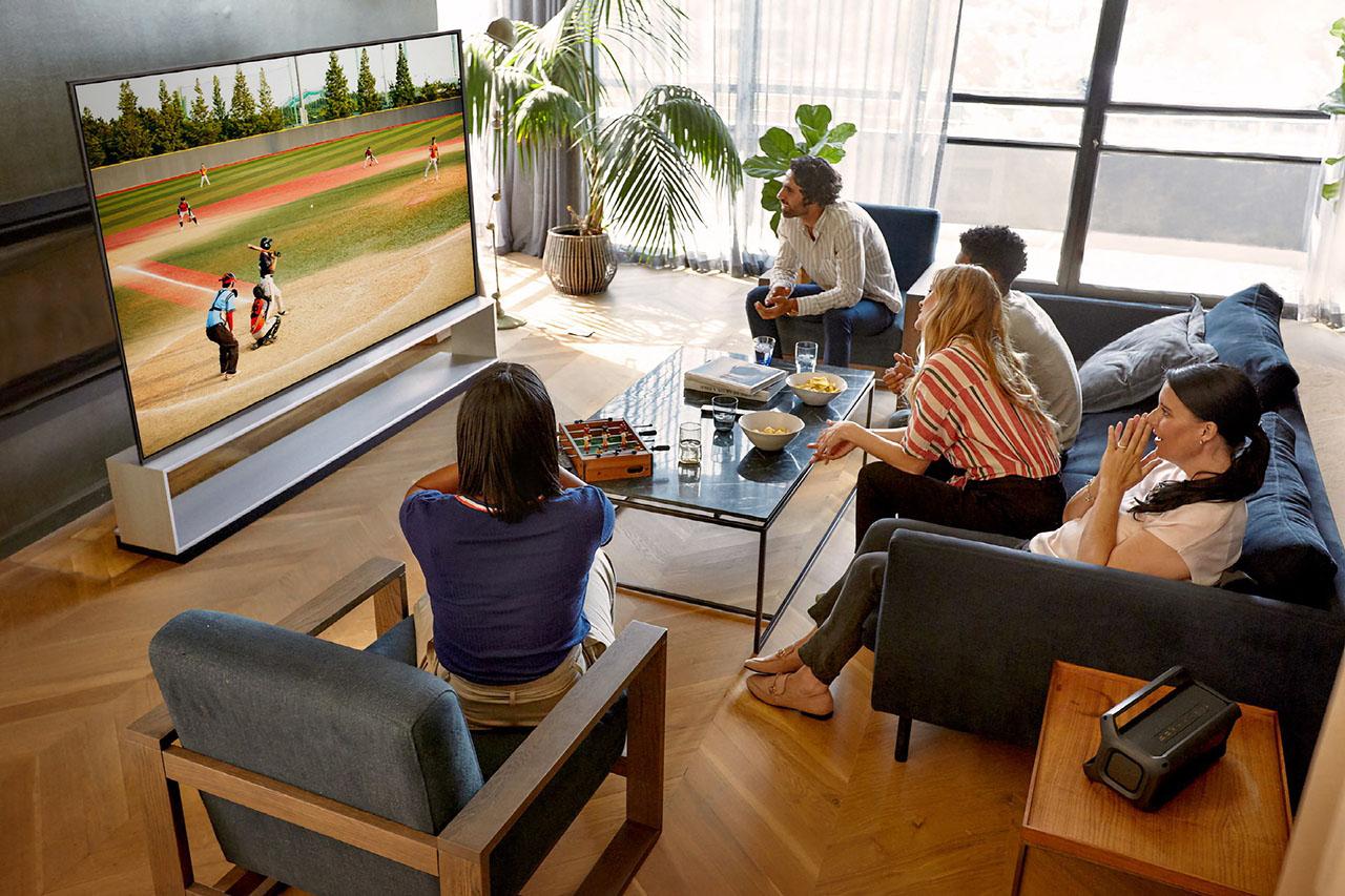 LG Signature 8K OLED TV