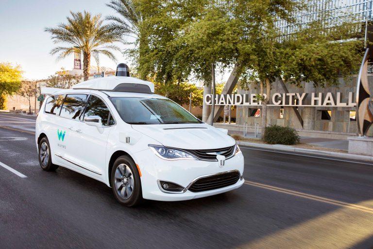 Waymo self-driving taxi