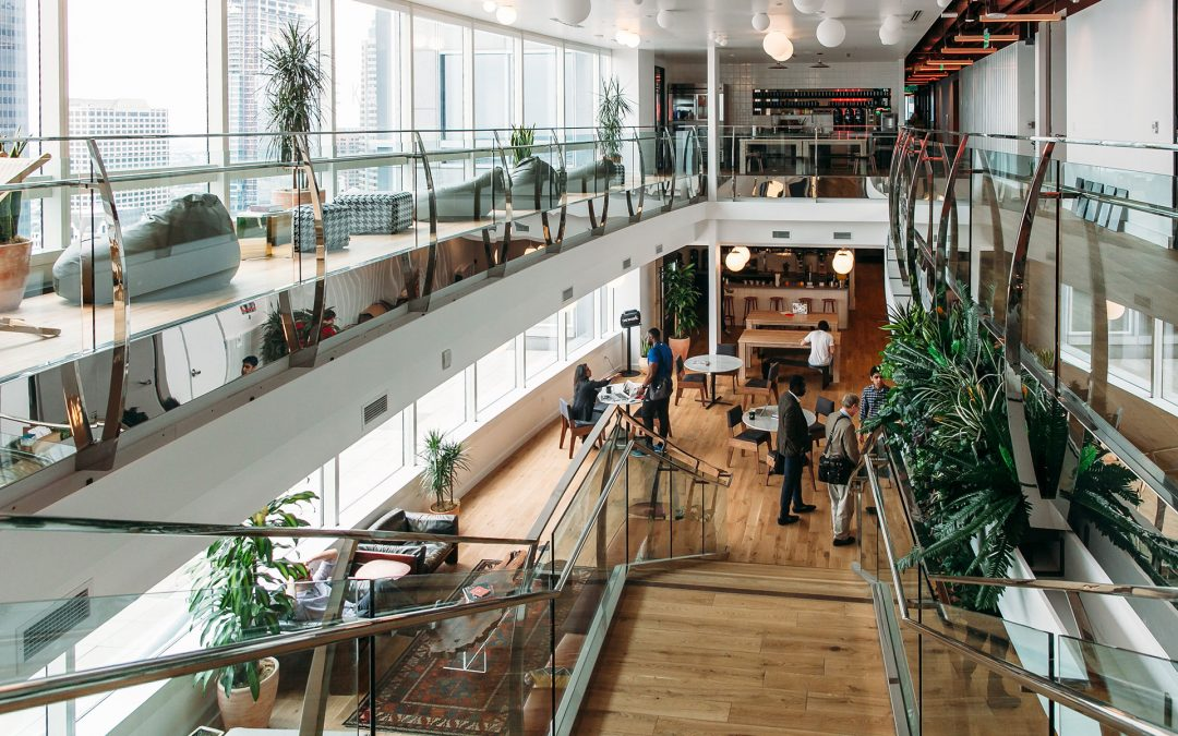 WeWork Co-Working Reinvents Commercial Real Estate
