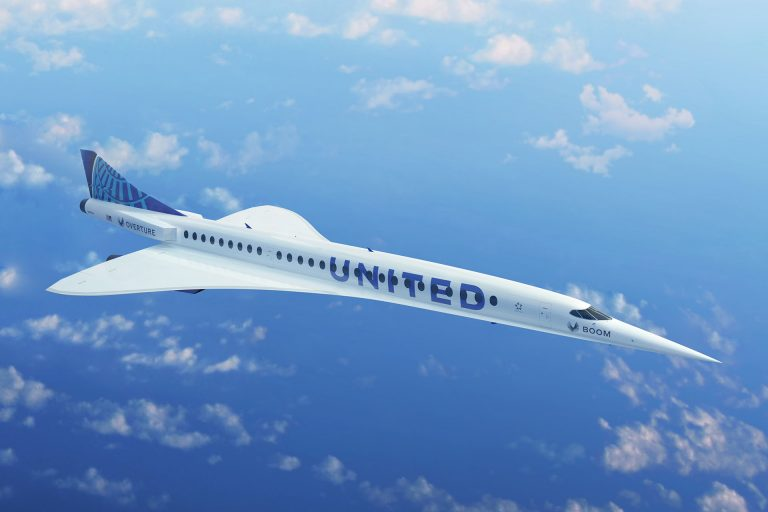 Supersonic Aircraft: United's Boom Overture
